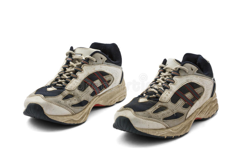 Download Worn Sneakers Trainers Stock Photography - Image: 17945982