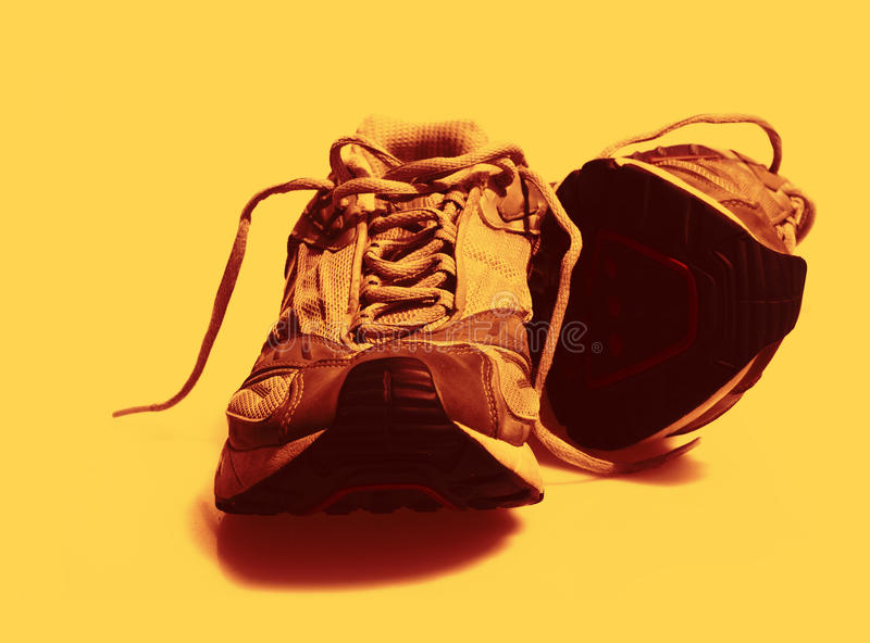 Download Worn Sneakers Trainers Color Toned Stock Photo - Image: 12588686