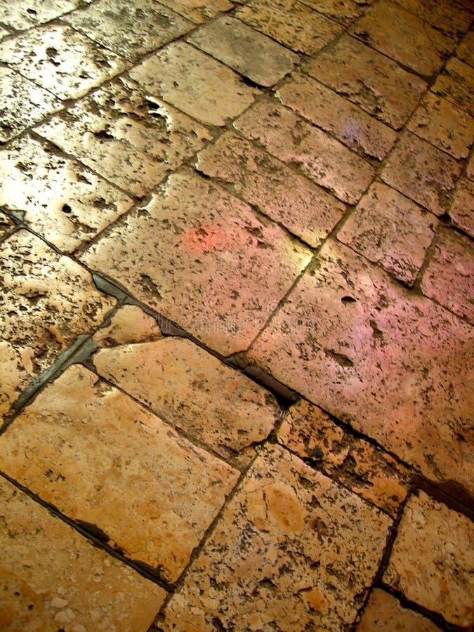 Download Worn stone floor stock image. Image of texture, brown, light - 257639