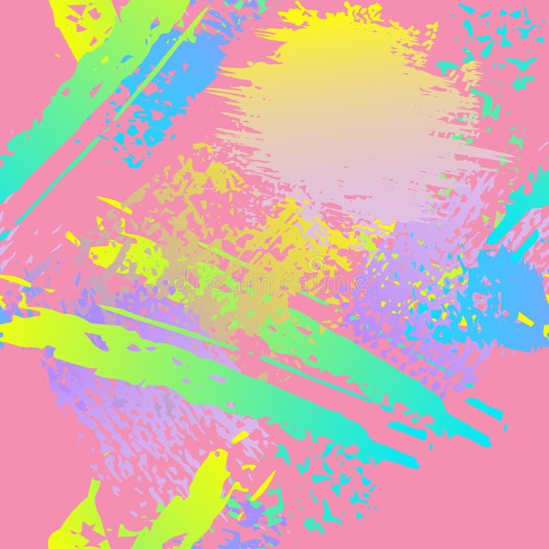Worn Texture Splatter Surface. Paint Endless stock illustration