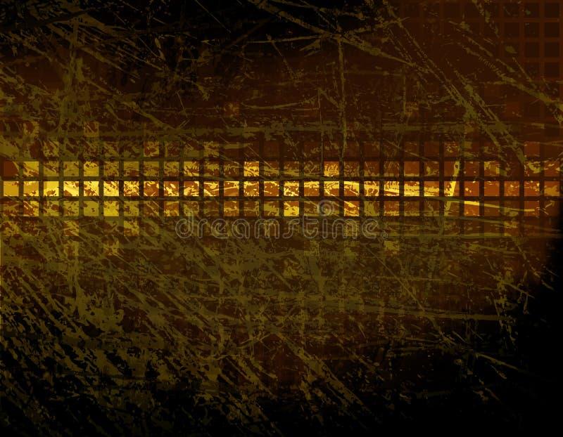 Worn tiles vector illustration