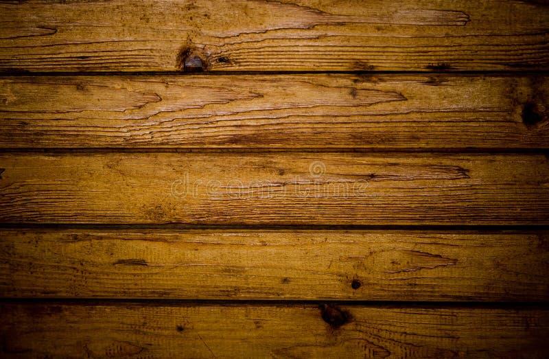 Worn wood surface
