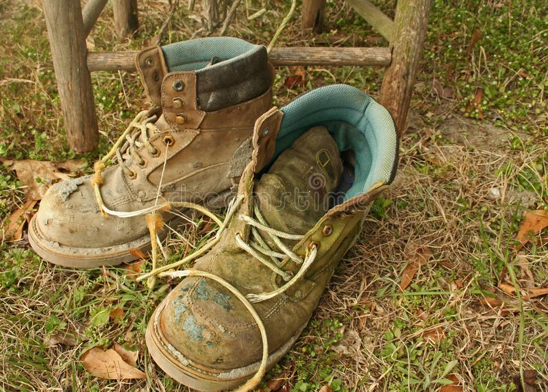 Worn Work Boots Free Stock Images