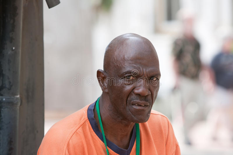 Worried. African American man with worried and scared look on his face royalty free stock photos