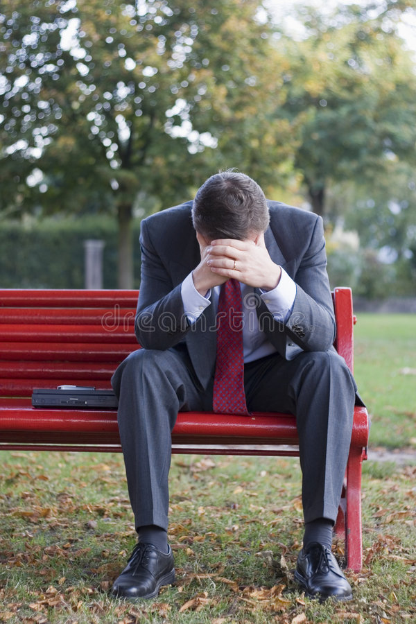 Free Worried Businessman Royalty Free Stock Photography - 3340347