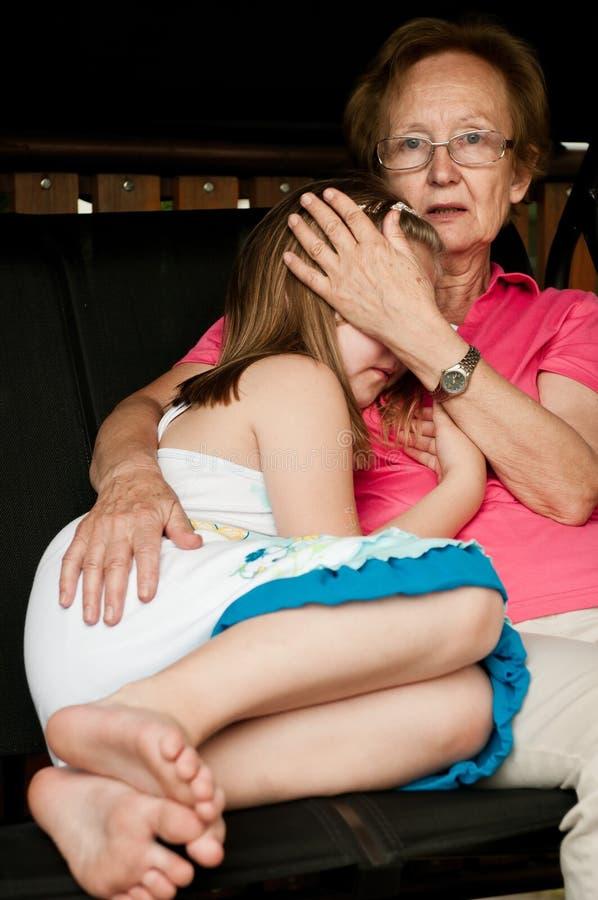 Download Worried - comforting child stock image. Image of despair - 20472039