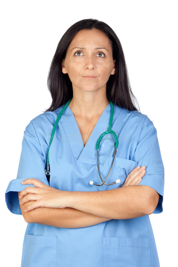 Download Worried doctor stock image. Image of health, attractive - 22117029
