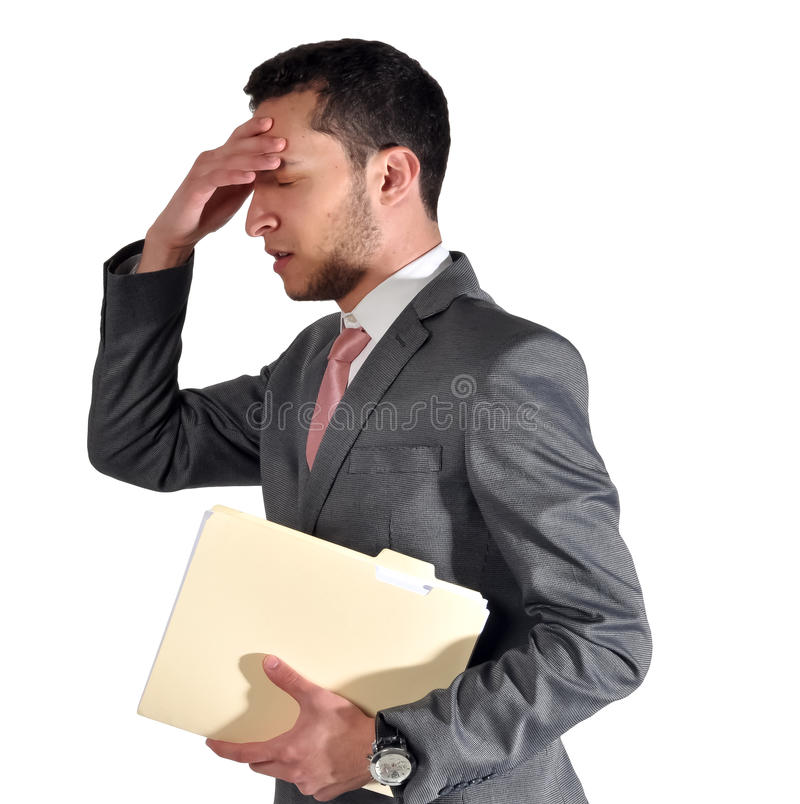 Download Worried about the meeting stock photo. Image of interview - 24196312