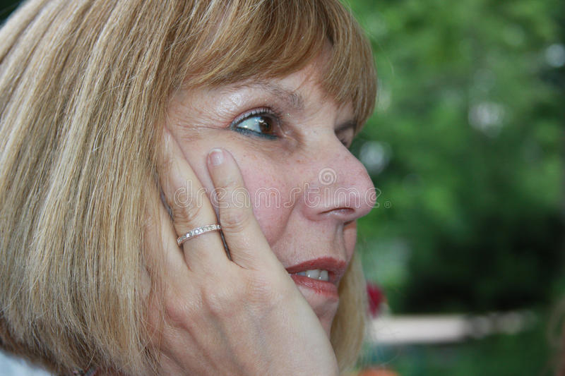 Download Worried Woman Royalty Free Stock Image - Image: 14423706