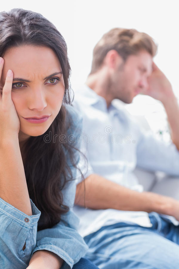 Download Worried Woman Holding Her Head Stock Photos - Image: 32510073