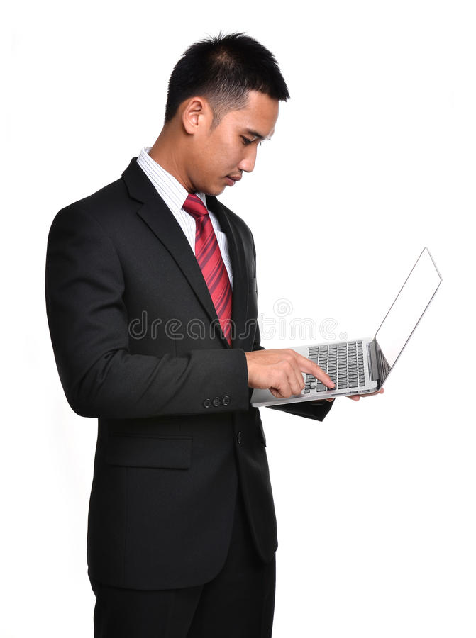 Download Worry Business Man Isolated Stock Photo - Image: 32095582