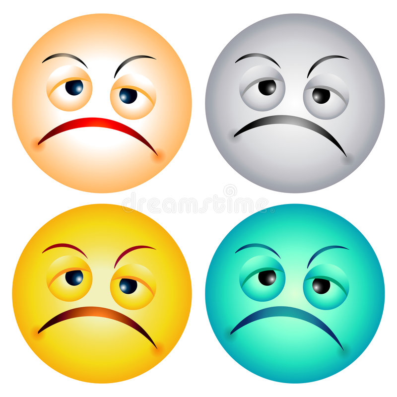 Free Worry Faces Royalty Free Stock Images - 3282179