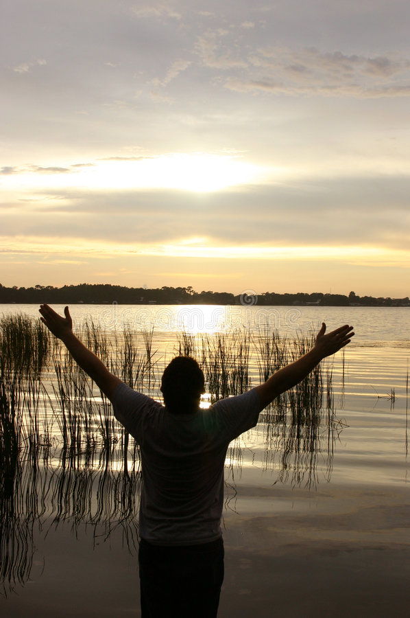 Worship royalty free stock photo