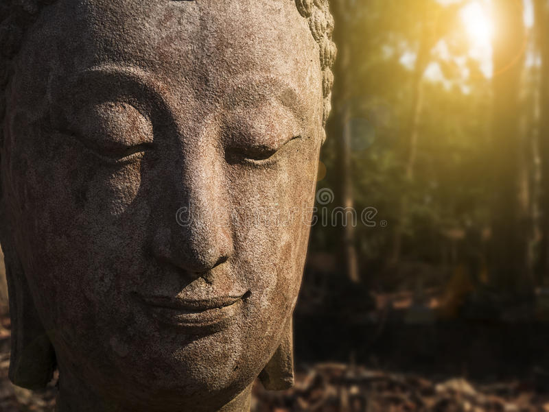 Worship of Thailand,Buddha statue,History of Thailand,Buddha sta stock photo