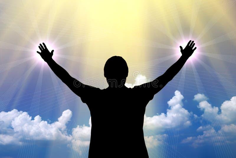 Worship to God royalty free stock photos