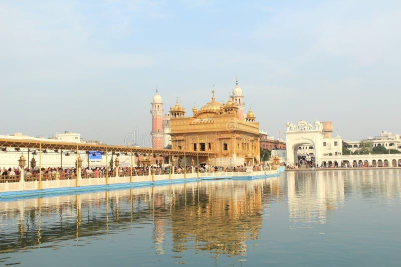 Harmandir Sahib(Golden Temple). stock image