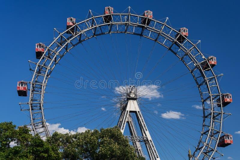 Worstje Riesenrad stock fotografie