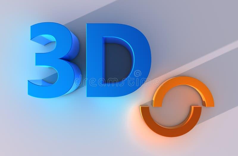 Download Wort 3d stock abbildung. Illustration von reflexion, konzept - 26374334