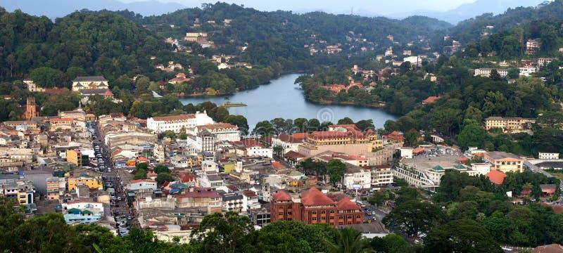 Wort-Erb-Kandy-Stadt, Sri Lanka lizenzfreies stockfoto