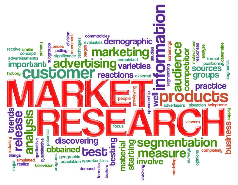Wort etikettiert Marktforschung