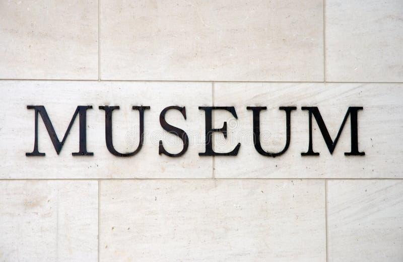 Wort-Museum lizenzfreies stockbild
