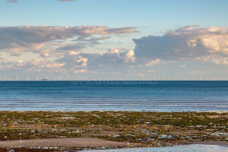Worthing Plaża zdjęcie stock