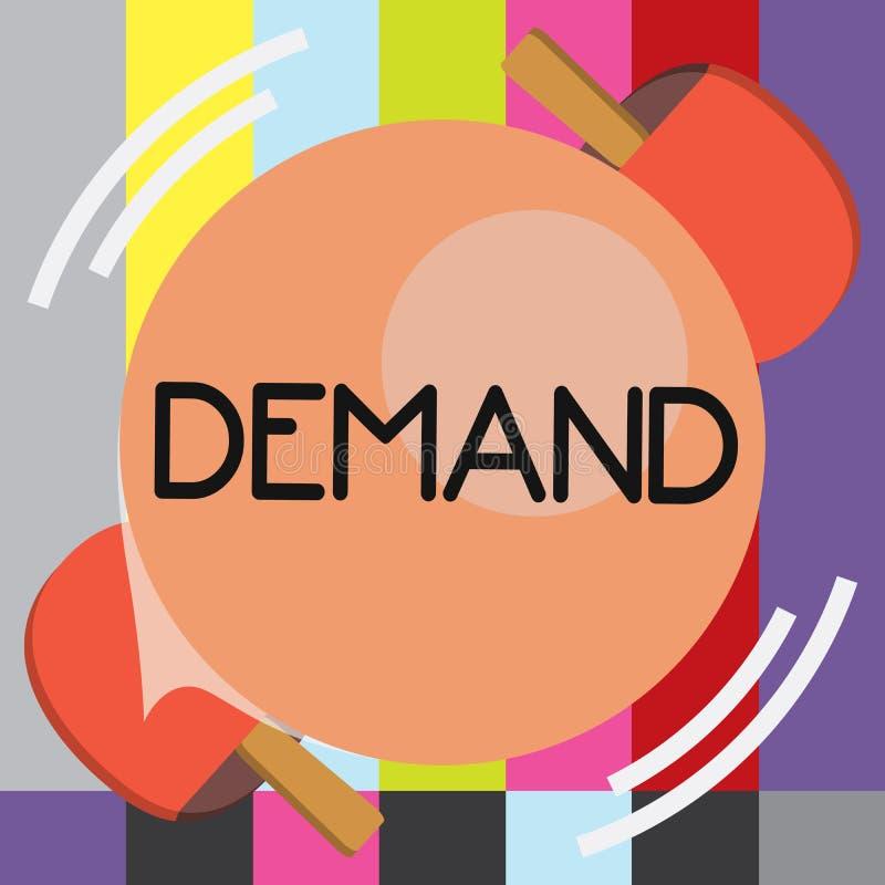 Wortschreibens-Text Nachfrage Geschäftskonzept für den hartnäckigen und definitiven Antrag, der ab Recht gemacht wird, bitten maß lizenzfreie abbildung