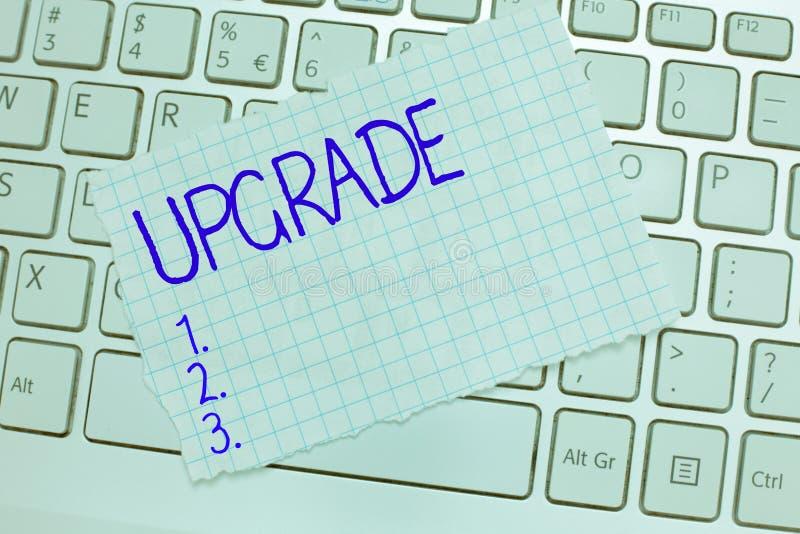 Wortschreibens-Text Verbesserung Geschäftskonzept für Erhöhung etwas zum höheren Standard Improve machen besser zu erhöhen lizenzfreie stockfotos