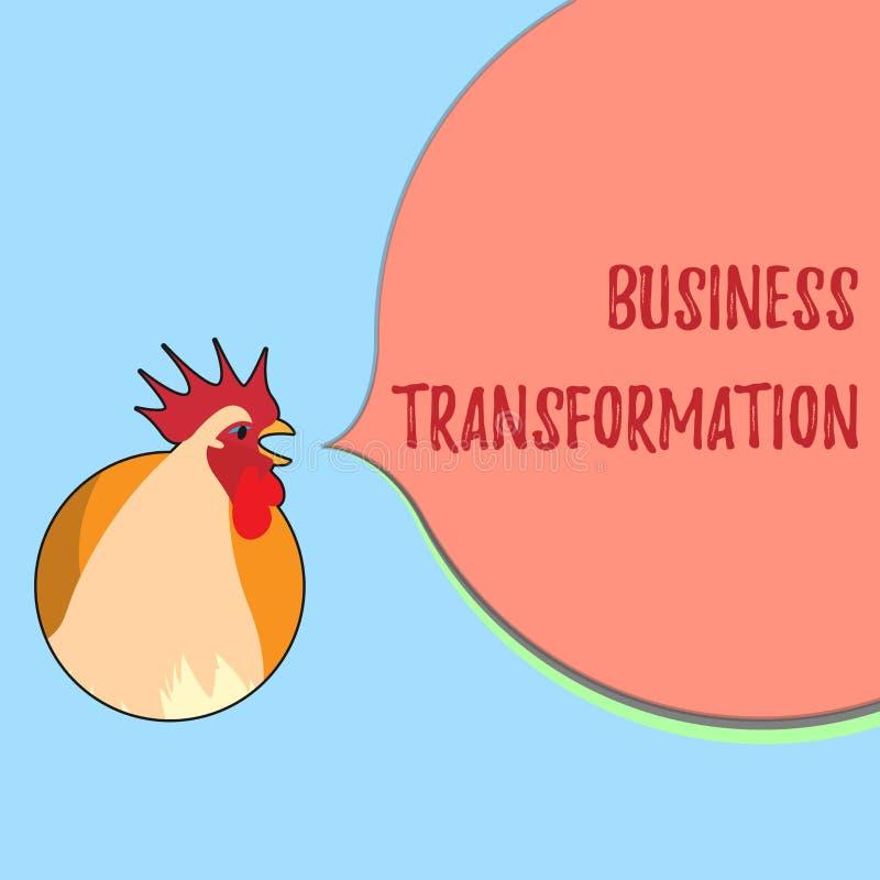 Wortschreibenstext Geschäfts-Umwandlung Geschäftskonzept für Align, die ihr Handel mit Strategie-Verbesserung modelliert lizenzfreie abbildung