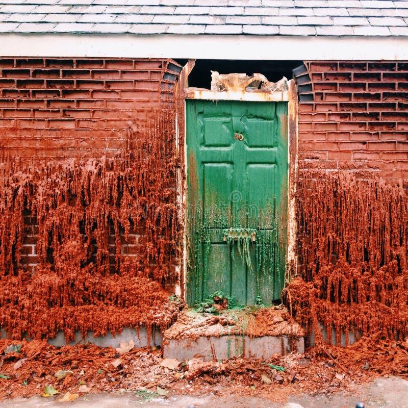 wosku dom zdjęcie stock