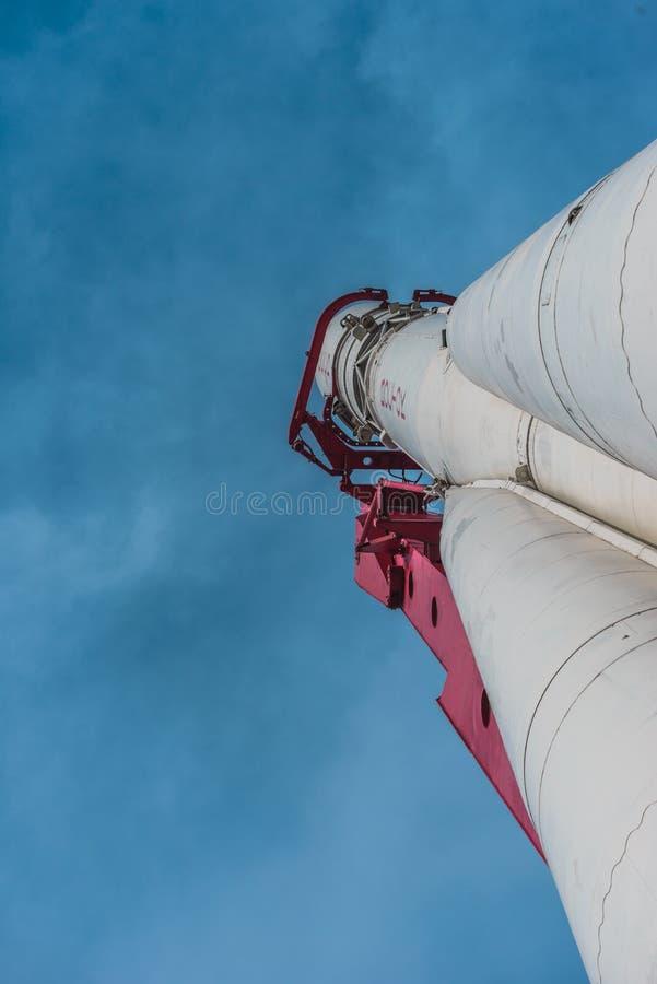 Wostok-Rakete lizenzfreies stockbild