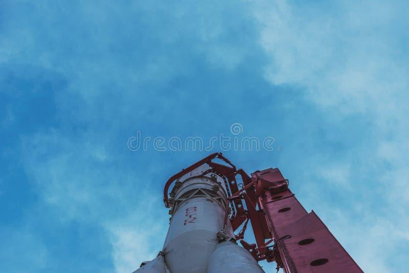 Wostok-Rakete stockbild
