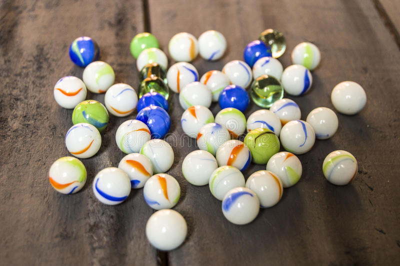 Would you like to play a marble? Colorful colorful marbles, marble and marble paintings, beautiful marble paintings royalty free stock photo