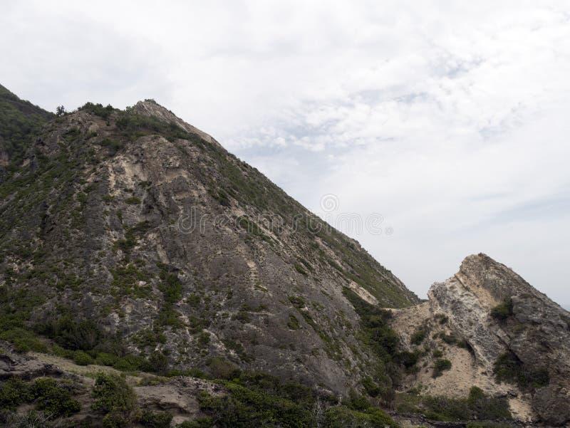 Wouldn `您要攀登这里的t ? 免版税库存图片