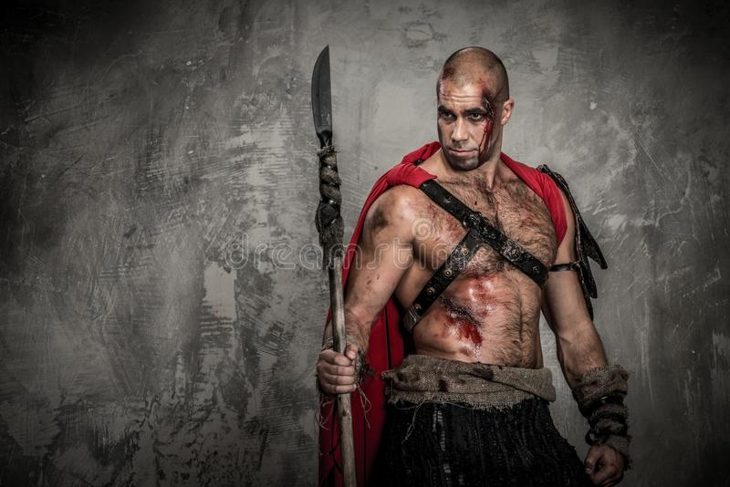 Wounded Gladiator Stock Images