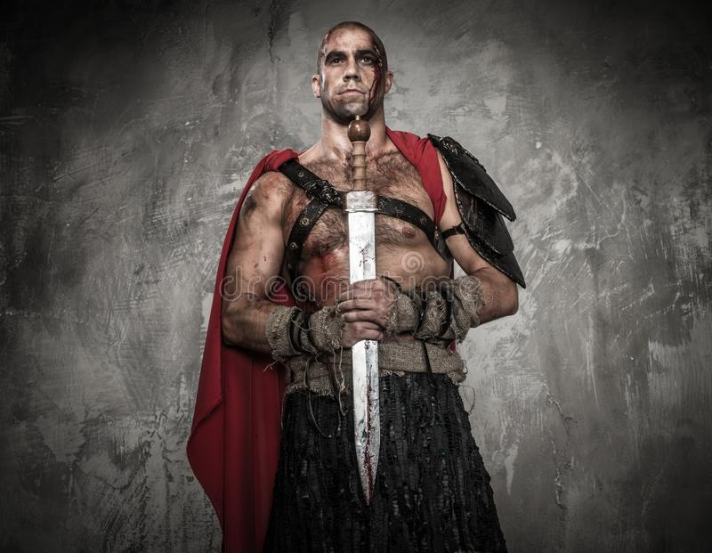 Download Wounded Gladiator With Sword Stock Photo - Image: 36552558