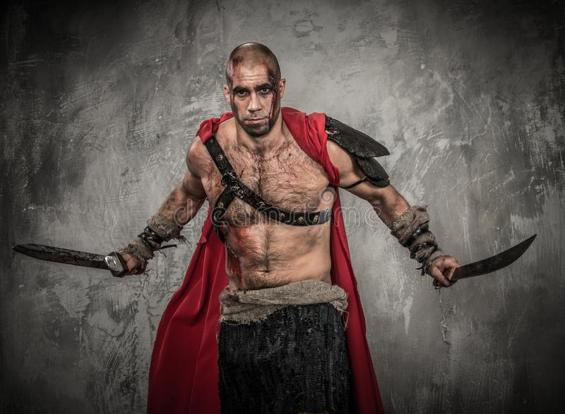 Download Wounded Gladiator With Sword Royalty Free Stock Photos - Image: 36548938