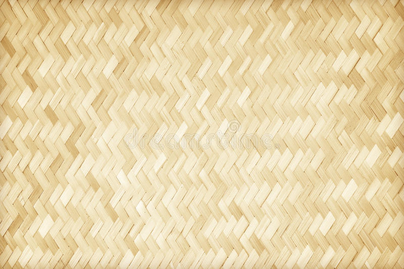 Woven bamboo pattern. Close up woven bamboo pattern stock photo