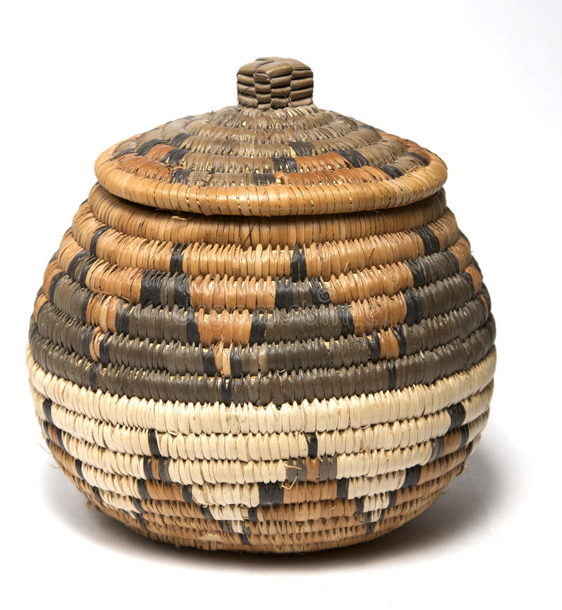 Woven Basket Royalty Free Stock Images