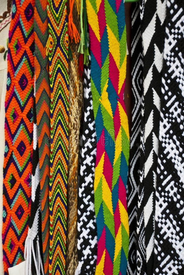 Download Woven Belts stock image. Image of green, central, accessory - 39082115