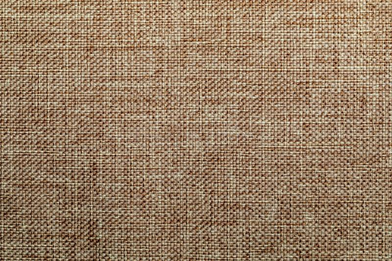 Woven fabric cover. Beige fabric texture. Rough Fabric Texture, Pattern stock images