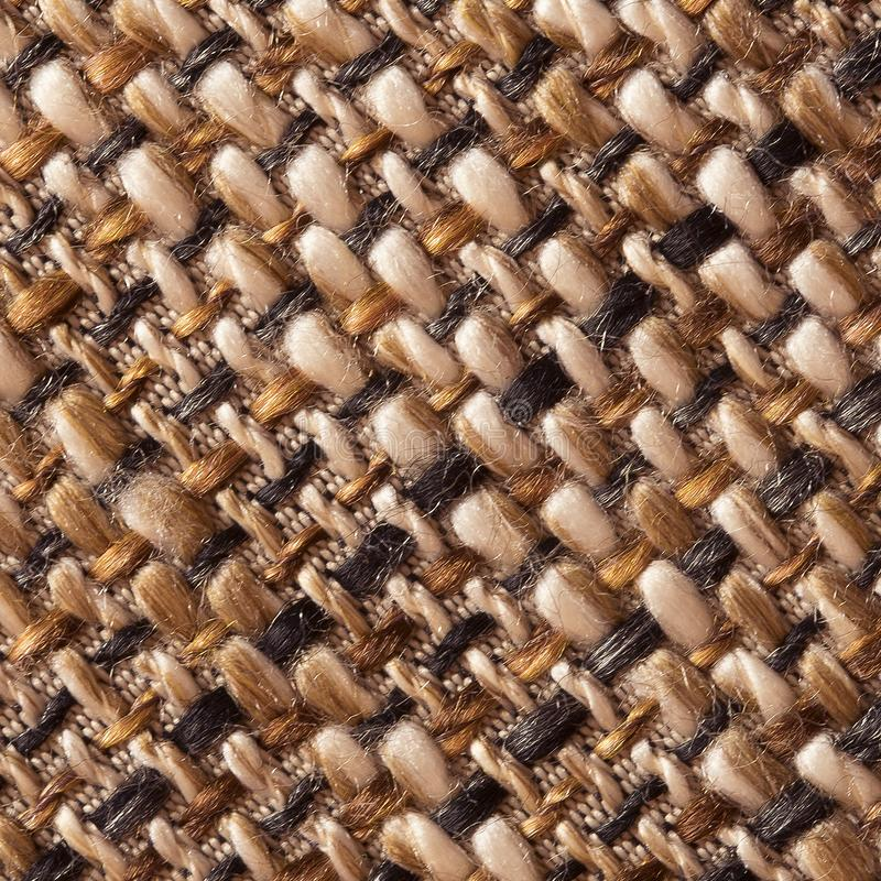 Woven fabric structure , macro. Woven fabric structure , close up stock photography