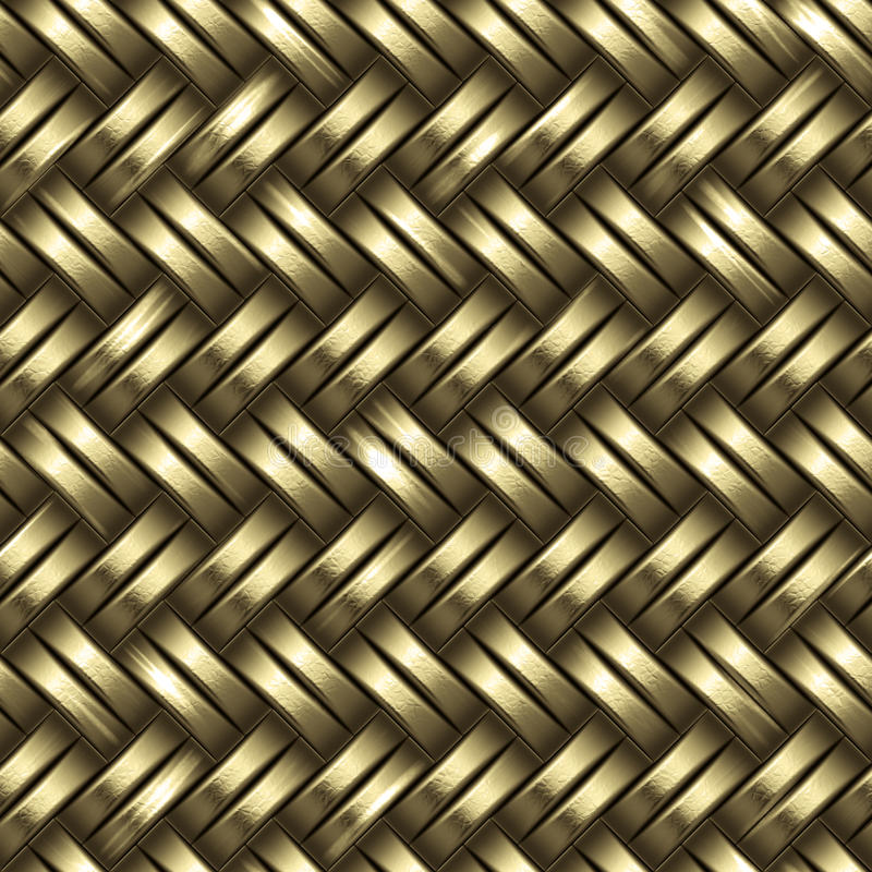 Free Woven Gold Background Stock Photos - 11019003