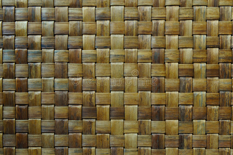 Woven mat texture royalty free stock photo