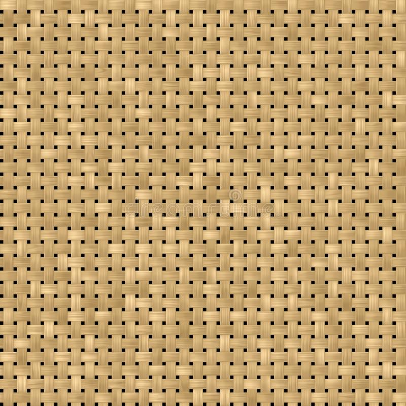 Download Woven Rattan Wicker Seamless Pattern Texture Background   Light  Beige Color Stock Illustration   Illustration