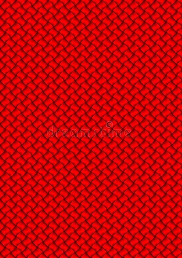 Woven red vector illustration