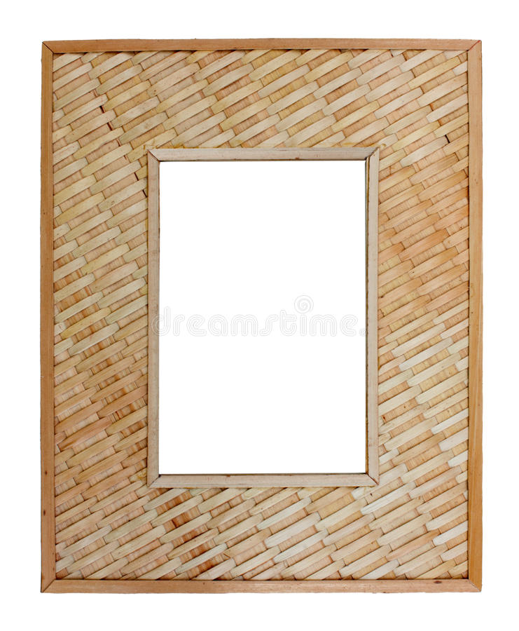 Download Woven reed frame stock image. Image of gallery, framework - 24272617