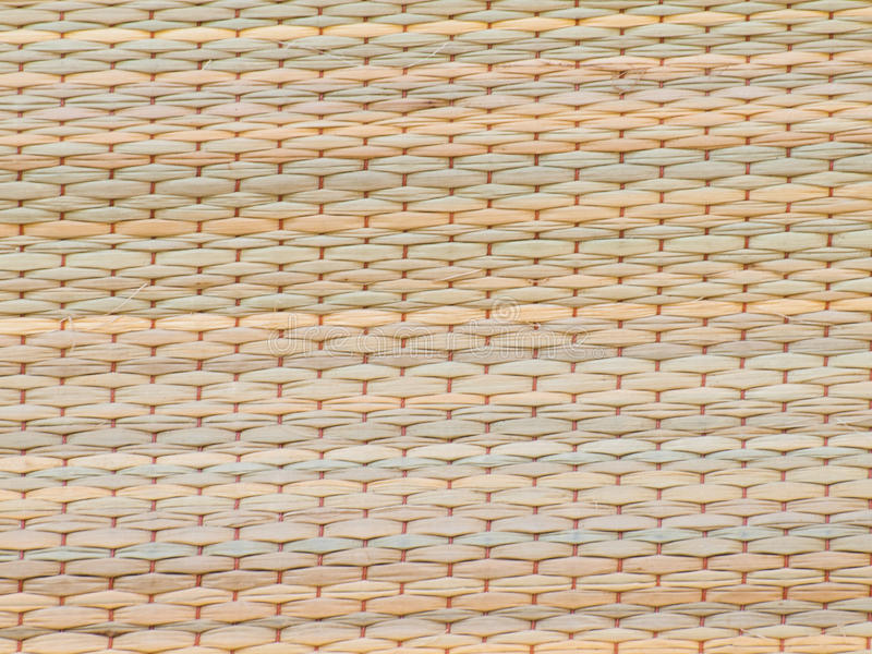 Woven reed mats made of natural. Woven reed mats abstract backgrounds nature royalty free stock photo