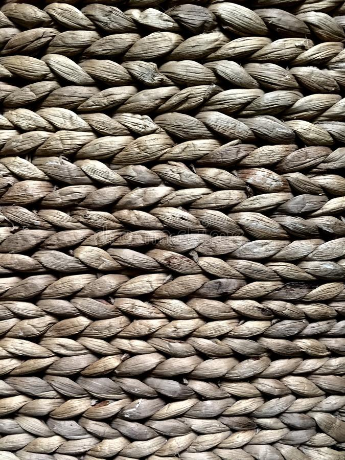woven straw texture royalty free stock images