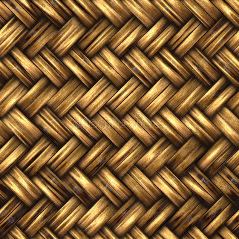 Download A woven wicker material stock illustration. Illustration of pattern - 8040174